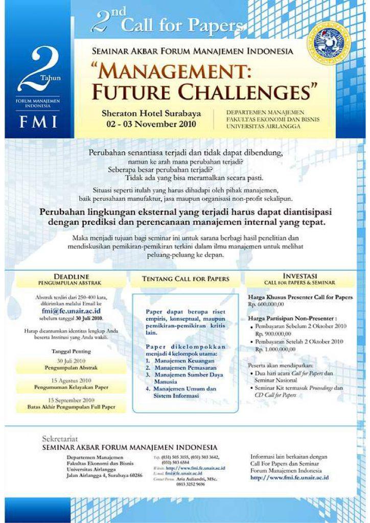Poster FMI - 2010