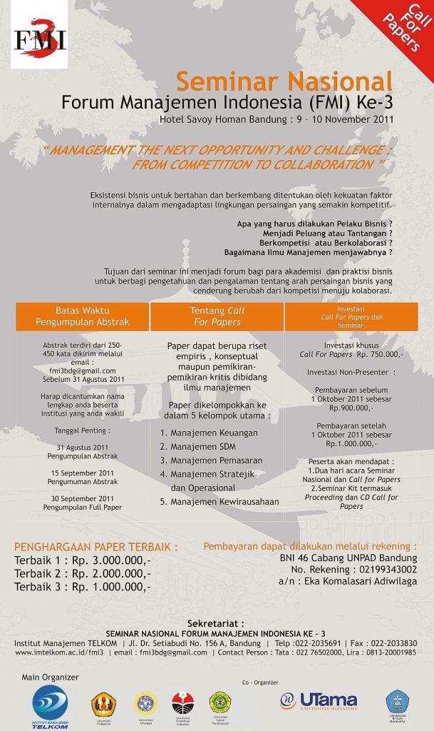 Poster FMI - 2011